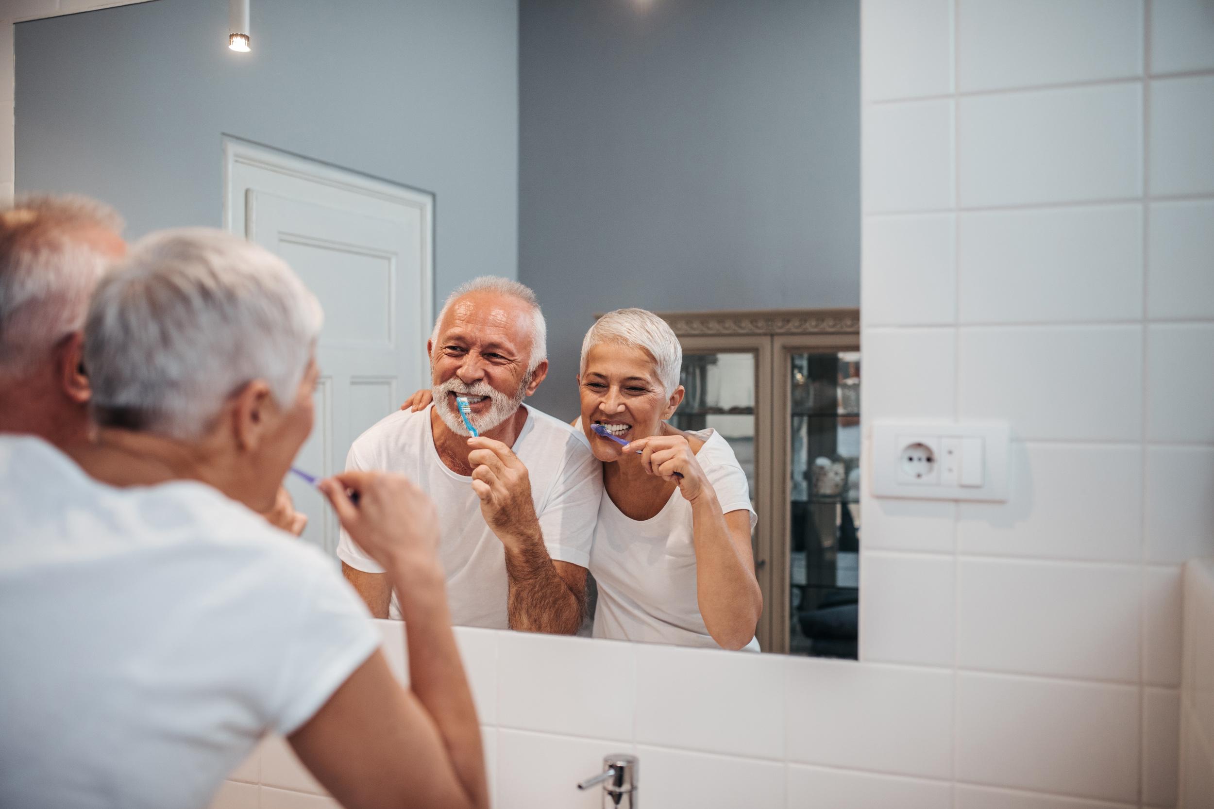 Moss Family Dentistry offers senior adult dental health care