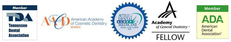 Dr. Moss is a member of the Tennessee Dental Association, American Academy of Cosmetic Dentistry, American Academy of Dental Sleep Medicine, Academy of General Dentistry, and the American Dental Association